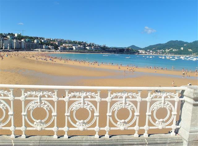 Vackraste stranden i Europa  i San Sebastian