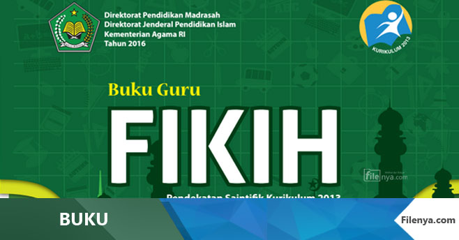 Buku MI Kls 3 Fikih Kurikulum 2013 Revisi 2016