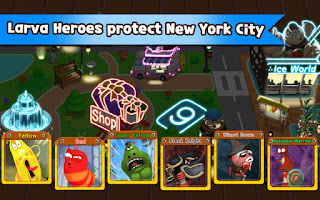 Download Larva Heroes Lavengers 2014 APk Mod