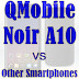 QMobile Noir A10 vs Other Smartphones