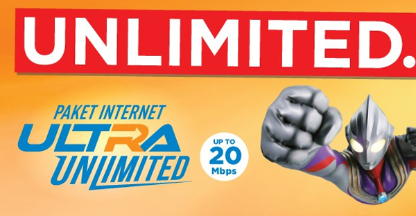 Paket Internet BOLT! Ultra Unlimited 4G LTE April 2017