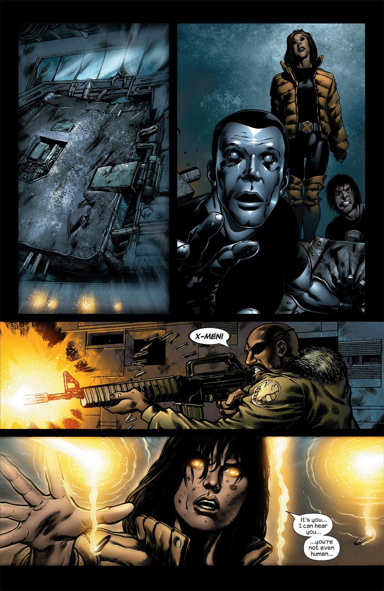 Read online Ultimate Nightmare comic -  Issue #5 - 10