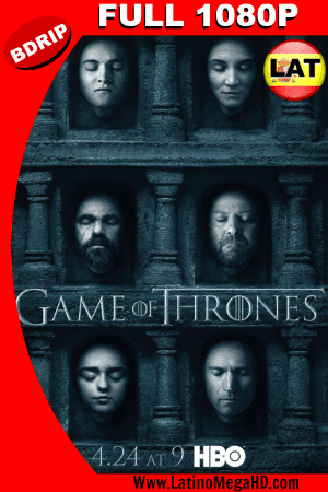 Game of Thrones Temporada 6 (2016) Latino Full HD BDRIP 1080P ()