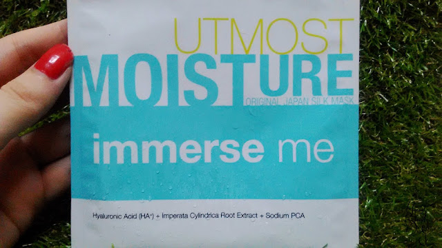 Review; B.liv's Immerse Me Utmost Moisture Original Japan Silk Mask