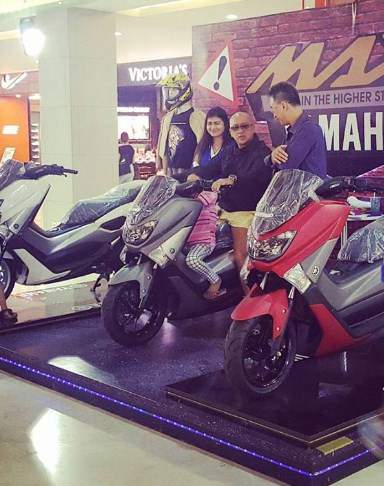 Yamaha-Nmax-2017-dipamerkan-untuk-bikers-Bali