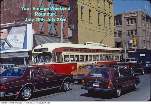 Your Vintage Weekend Roundup: July 20th-July 23rd
