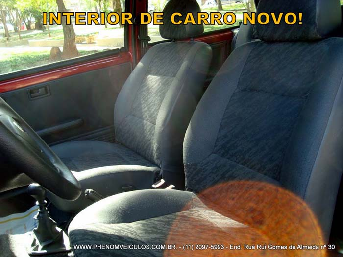 Mille Way 2008 Flex 2 Portas- interior bancos