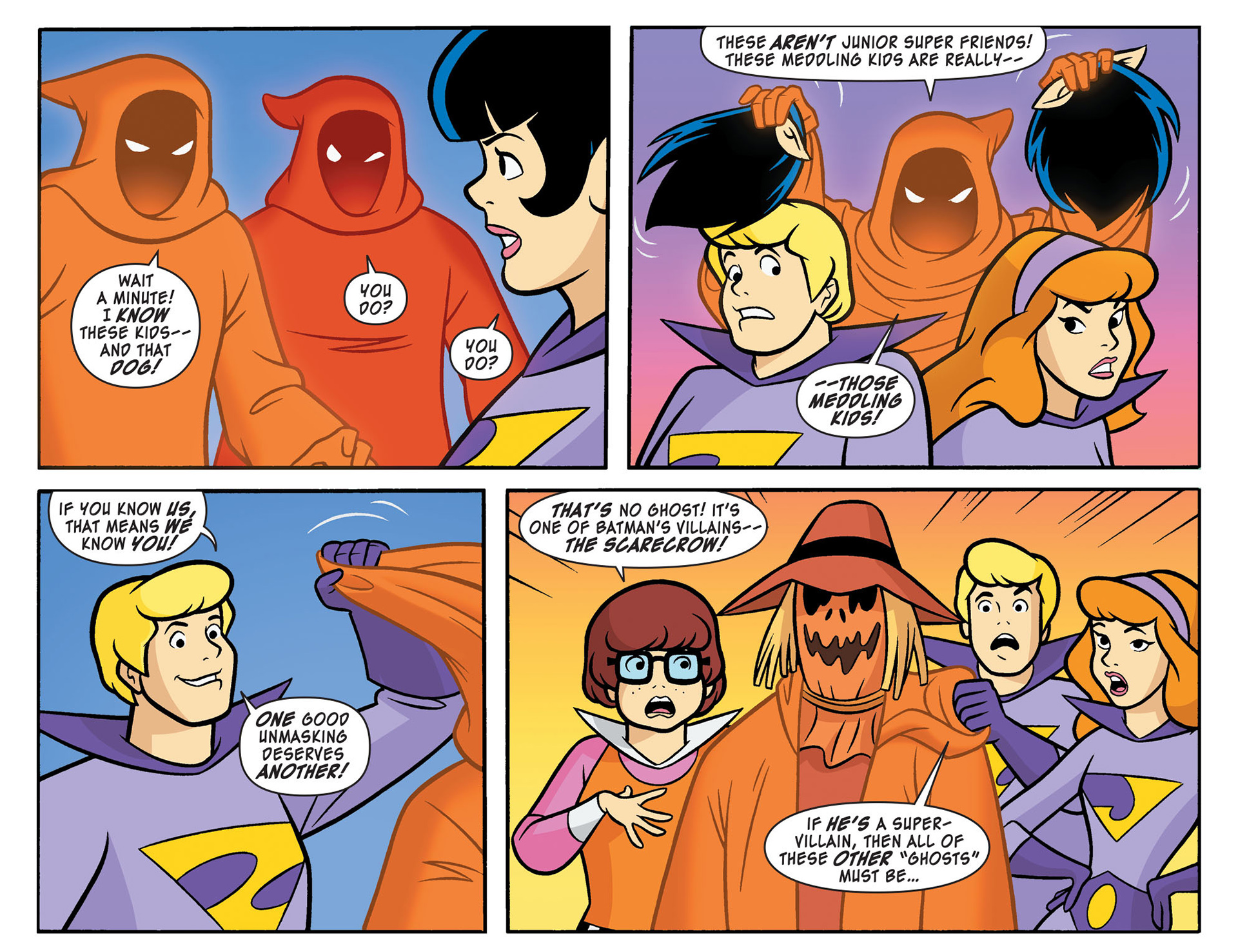 Read online Scooby-Doo! Team-Up comic -  Issue #11 - 21