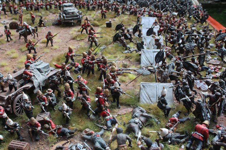 Military Dioramas - Zulu War