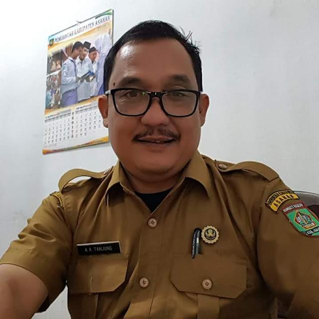 Kabid Pemberitaan Dinas Infokom Asahan Arbin Tanjung.