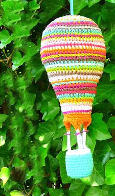 amigurumi crochet air balloon