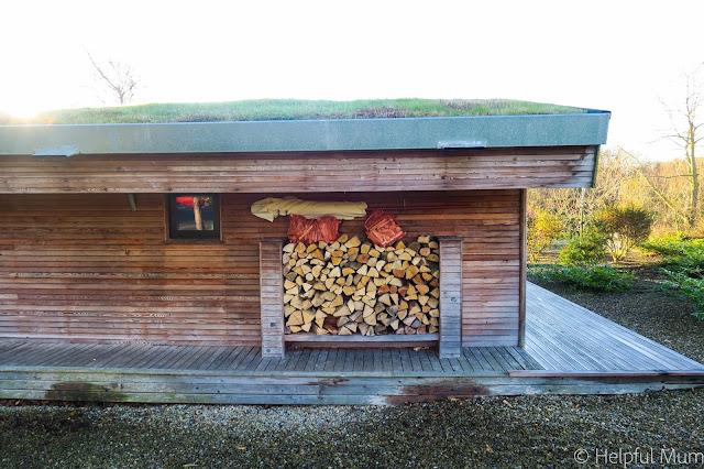 Log store Brompton Lakes