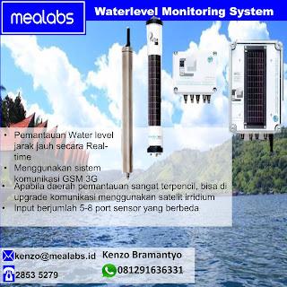 Pemantau Level Kedalaman Air
