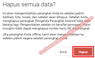 cara mengaktifkan android device manager