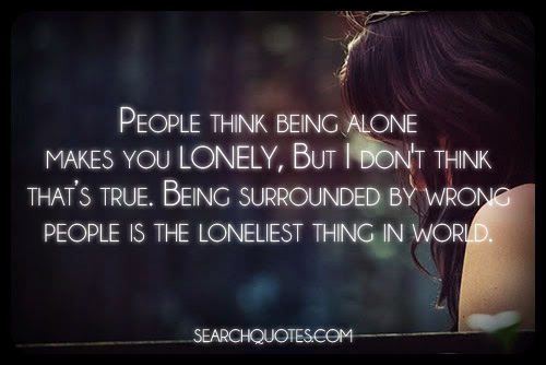 Sad Quotes About Being Alone: Story Holic Peace Love And Science: SAD AND LONELY QUOTES