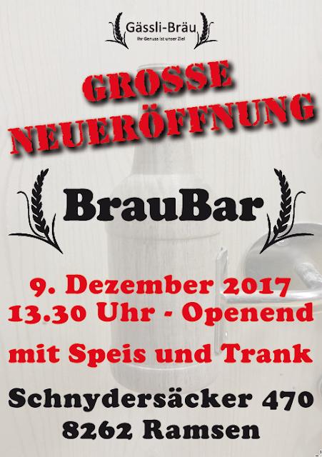 Bar klein fein speziell Anlässe Ramsen Schweiz Schaffhausen