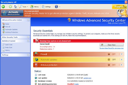 How to Remove Security Master AV From Your System - Security Master AV Removal Guide