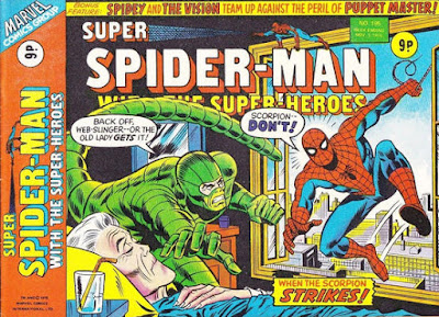 Super Spider-Man with the Super-Heroes #195, the Scorpion