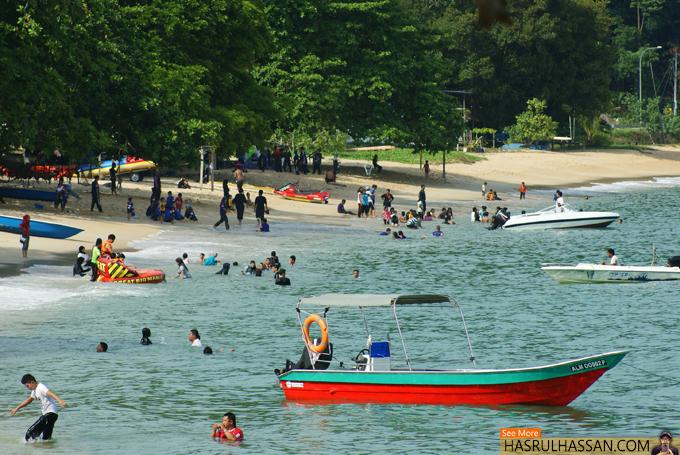 Pantai Menarik di Pulau Pangkor