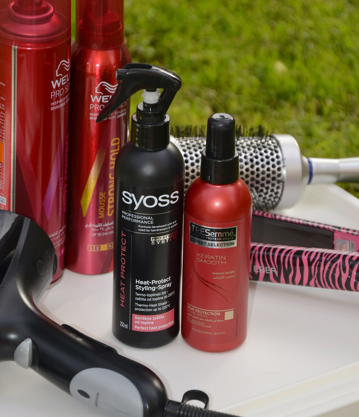 Heat Protection Spray For Hair بخاخ لحماية الشعر من الحراره Simply Amirah