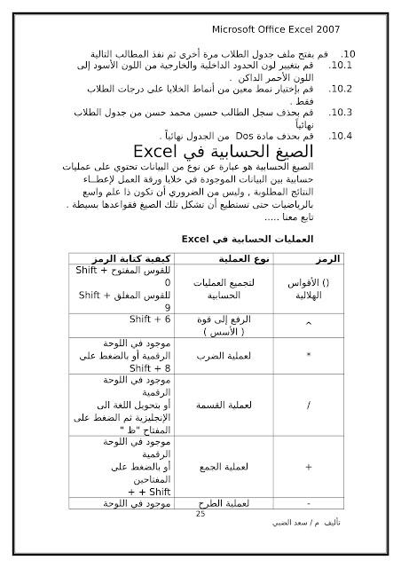 أساسيات برنامج اكسل Excel elebda3.net-5858-25.