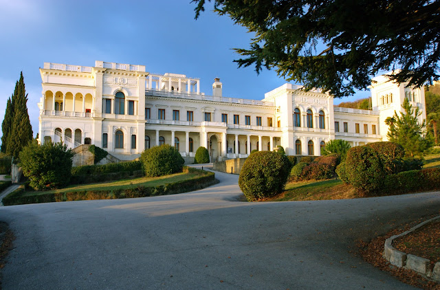 Livadia Palace, Crimeea, Front