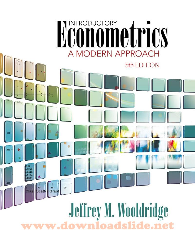 Introductory Econometrics A Modern Approach Ebook