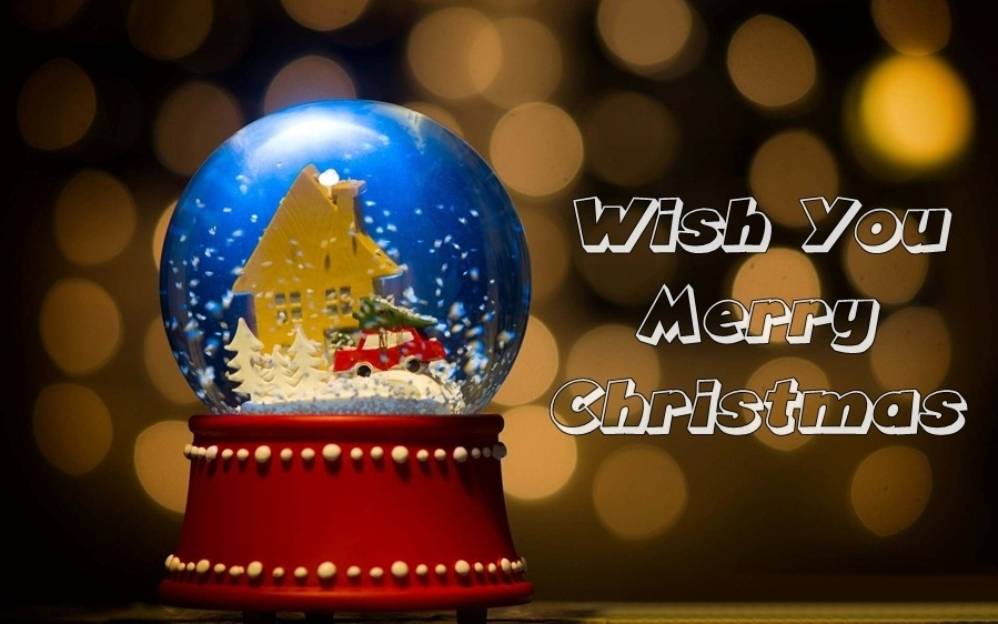 Wish You Merry Christmas Card