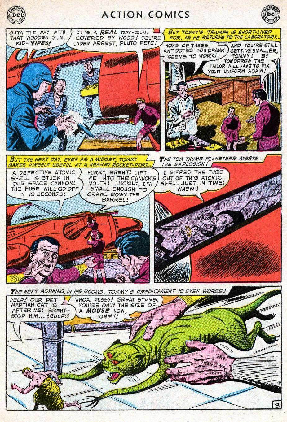 Read online Action Comics (1938) comic -  Issue #219 - 29