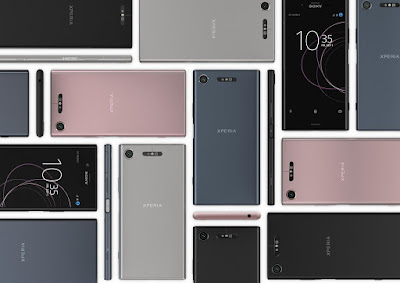 Sony Xperia XZ1 Colours