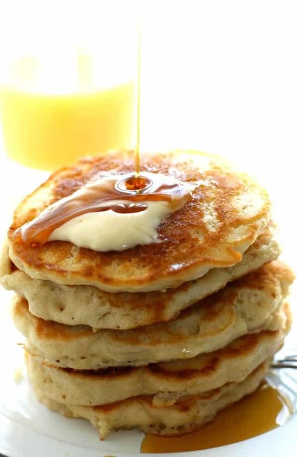 Light and Fluffy Vegan Pancakes Recipe