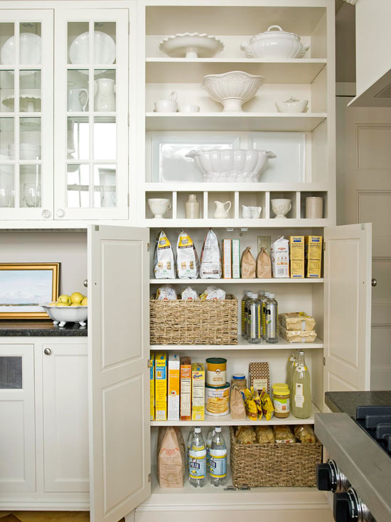 Small Kitchen Appliance Storage Ideas Open Shelving
