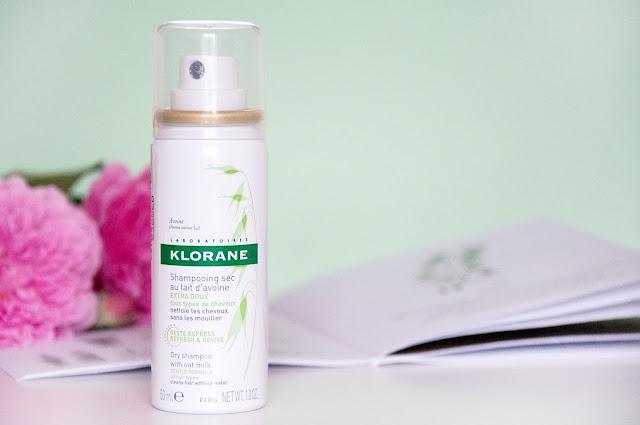 Сухой шампунь KLORANE с молочком овса  для нормальных волос отзывы
