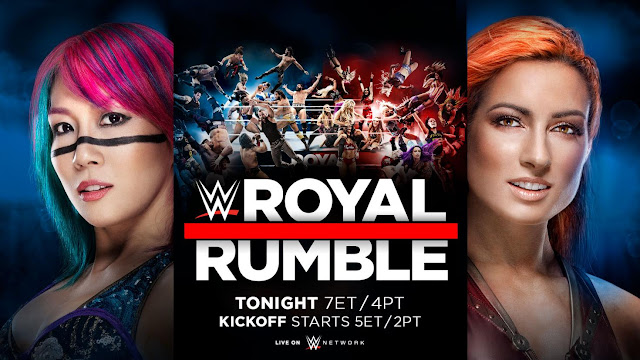 2019 Royal Rumble Poster