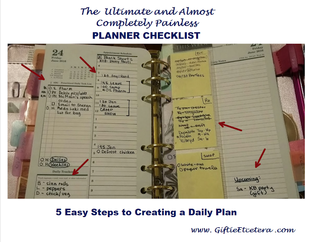franklin planner, day on two pages, planner inserts