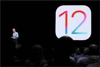 شركة أبل تعلن عن اطلاق نظامها الجديد ios 12 مع مميزات تشبه اندرويد 9