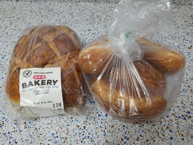 HEB Sourdough Bread 109 Each Normally 318