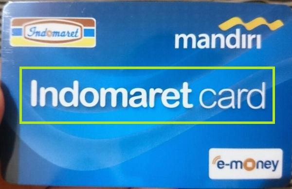 Cara Top Up Indomaret Card