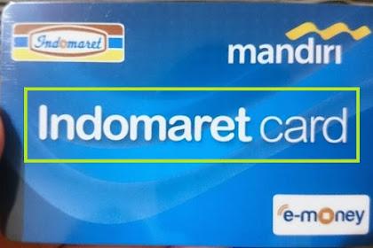 ∝ 4 Cara Top Up [ISI ULANG] Kartu Indomaret Card 2019