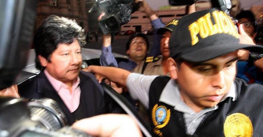 Dictan 18 meses de prisión preventiva contra Edwin Oviedo, por caso «Los Wachiturros de Tumán»