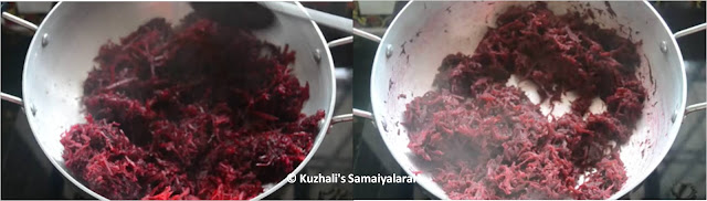 EASY BEETROOT HALWA RECIPE / HOW TO MAKE BEETROOT HALWA
