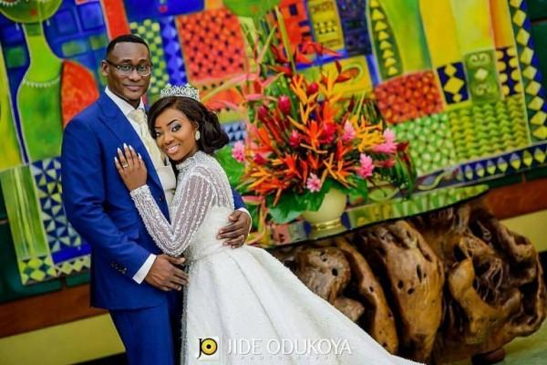 Photos From Kunbi Oyelese and Lanre Tomori's Wedding