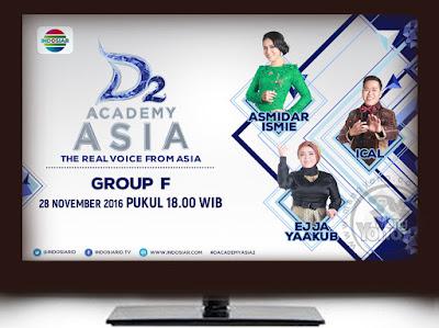 D'Academy Asia 2 Babak 18 Besar Grup F ; Asmidar Ismie, Ical, Ejja Yaakub