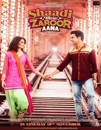 Shaadi Mein Zaroor Aana 2017 Full Hindi Movie HDRip Download
