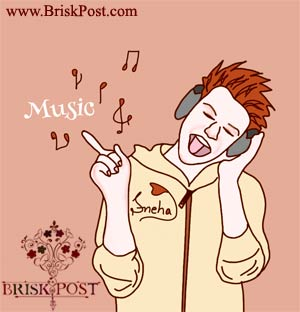 Image titled Mental Tension Relieving Mantras: music listening illustration