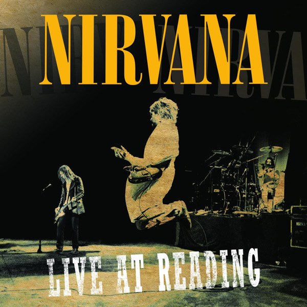 Nirvana - Live At Reading Cover