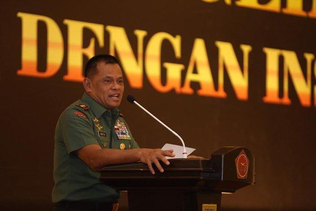Jendral TNI Minta tak Terprovokasi Oleh Oknum Ulama anti Pancasila yang Mengadu Domba