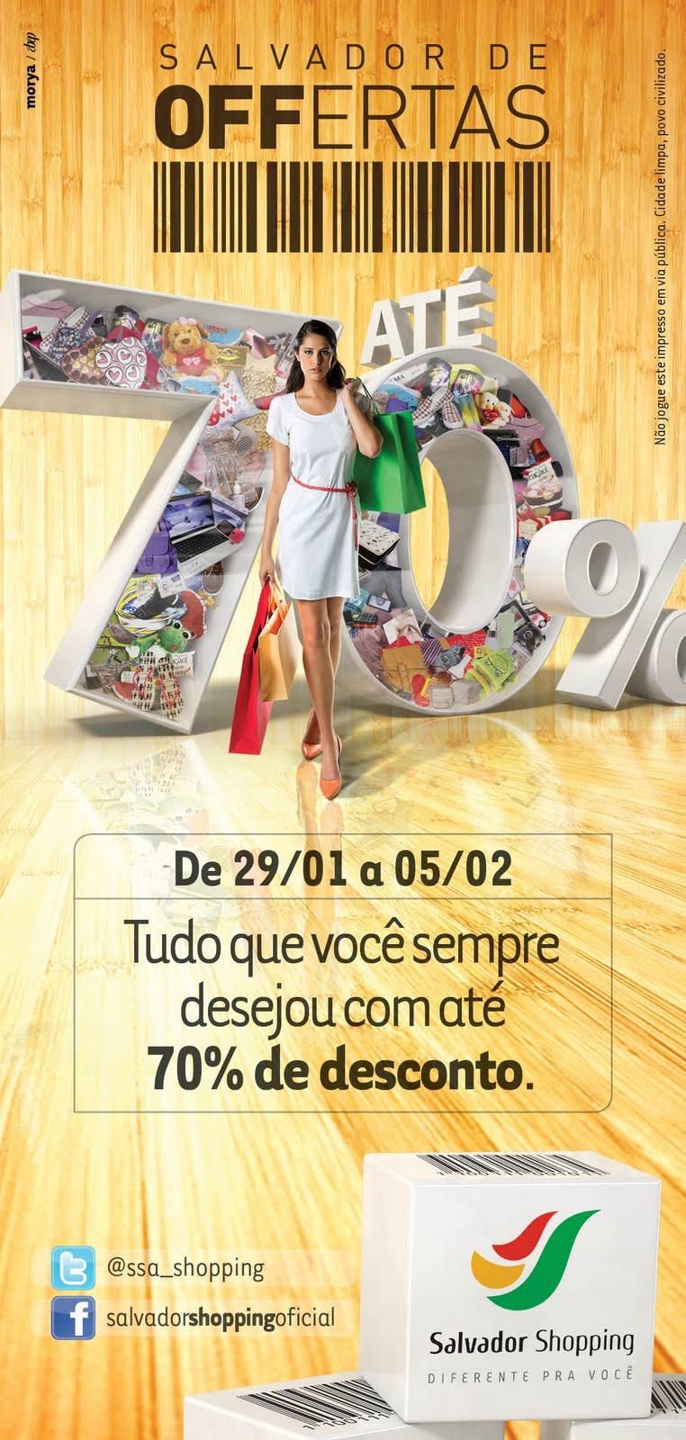 40fc4d567 E no verão do Salvador Shopping não poderia ser diferente. De 29 de janeiro  até 05 de fevereiro