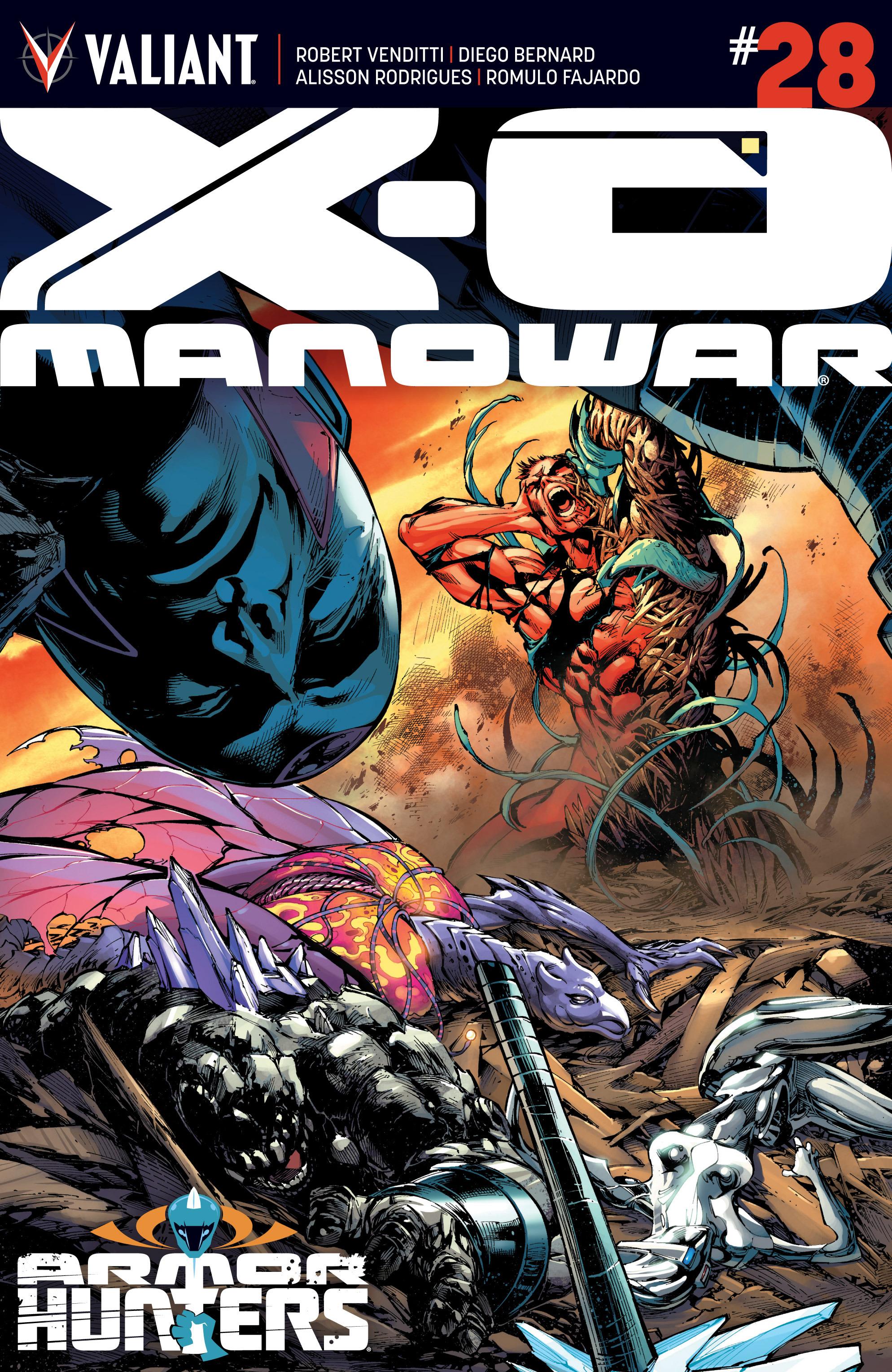 X-O Manowar (2012) 28 Page 1