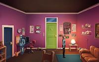 Rosa y Joey en un apartamento.